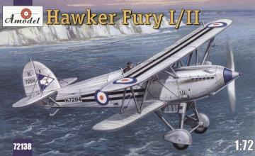Hawker Fury I/II USAF fighter · AM 72138 ·  A-Model · 1:72