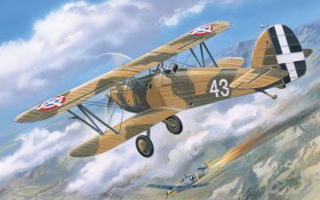 Hawker Fury Yugoslavian AF fighter · AM 72140 ·  A-Model · 1:72
