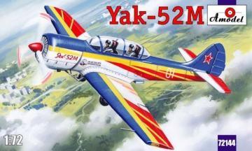 Yak-52M two-seat sporting aircraft · AM 72144 ·  A-Model · 1:72