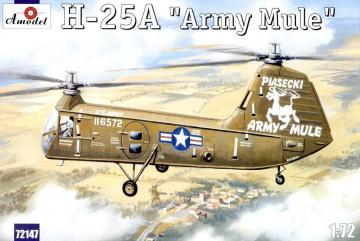 H-25A ´Army Mule´ USAF helicopter · AM 72147 ·  A-Model · 1:72