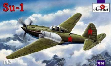 Sukhoi Su-1 Soviet fighter · AM 72156 ·  A-Model · 1:72
