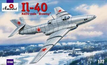 Ilyushin IL-40 Brawny Soviet aircraft · AM 72158 ·  A-Model · 1:72