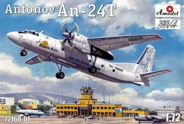 Antonov An-24T Phoenix Avia · AM 7216001 ·  A-Model · 1:72