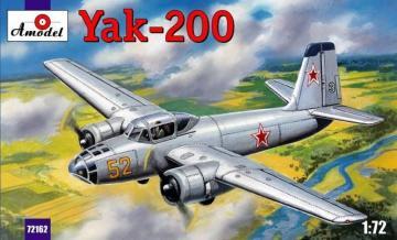 Yak-200 Soviet trainer aircraft · AM 72162 ·  A-Model · 1:72