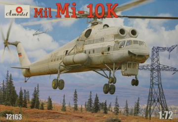 Mil Mi-10K Soviet ´Flying Crane´ heli · AM 72163 ·  A-Model · 1:72