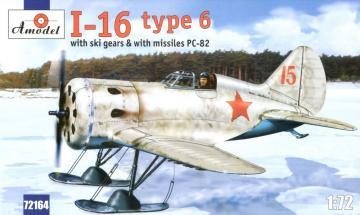 Polikarpov I-16 type 6 Soviet fighter · AM 72164 ·  A-Model · 1:72