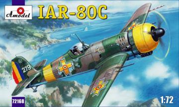 IAR-80C Romanian fighter · AM 72168 ·  A-Model · 1:72