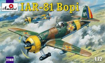 IAR-81 ´Bopi´ Romanian fighter · AM 72169 ·  A-Model · 1:72