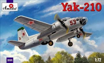 Yak-210 Soviet trainer aircraft · AM 72171 ·  A-Model · 1:72