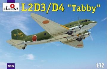 L2D3/D4 Taddy Japan transport aircraft · AM 72175 ·  A-Model · 1:72