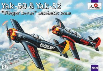 Yak-50 & Yak-52 ´Flieger Revue´ aerobati · AM 72179 ·  A-Model · 1:72