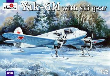 Yakovlev Yak-6M with ski gear · AM 72181 ·  A-Model · 1:72
