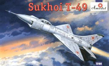 Sukhoi T-49 Soviet interceptor · AM 72184 ·  A-Model · 1:72