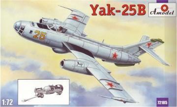 Yakovlev Yak-25B Soviet bomber · AM 72185 ·  A-Model · 1:72