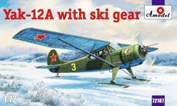 Yakovlev Yak-12A with ski gear · AM 72187 ·  A-Model · 1:72