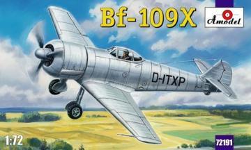 Messerschmitt Bf 109 X German experimental aircraft · AM 72191 ·  A-Model · 1:72