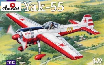 Yak-55 Soviet aerobatic aircraft · AM 72192 ·  A-Model · 1:72
