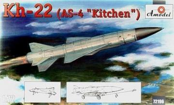 Kh-22(AS-4 ´Kitchen´) long-range anti-sh · AM 72196 ·  A-Model · 1:72
