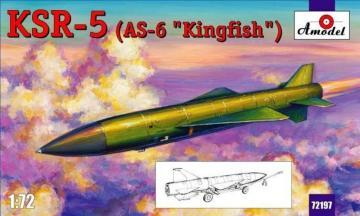 KSR-5(AS-6 ´Kingfish´) long-range anti-s · AM 72197 ·  A-Model · 1:72