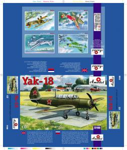 Yak-18 M-12 · AM 72198 ·  A-Model · 1:72