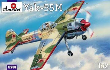 Yak-55M Soviet aerobatic aircraft · AM 72200 ·  A-Model · 1:72