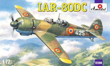 IAR-80DC Romanian training aircraft · AM 72204 ·  A-Model · 1:72