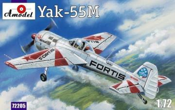 Yak-55M ´FORTIS´ · AM 72205 ·  A-Model · 1:72