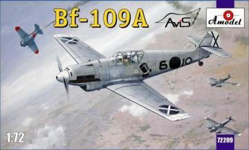 Messerschmitt Bf 109 A German fighter · AM 72209 ·  A-Model · 1:72
