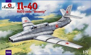 Ilyushin IL-40 Brawny Soviet jet-engin · AM 72213 ·  A-Model · 1:72
