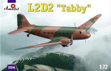 L2D2 Taddy Japan transport aircraft · AM 72214 ·  A-Model · 1:72