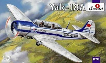 Yakovlev Yak-18 Sov. prim. train. aircr. · AM 72218 ·  A-Model · 1:72