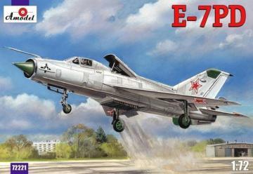 E-7PD Soviet aircraft · AM 72221 ·  A-Model · 1:72