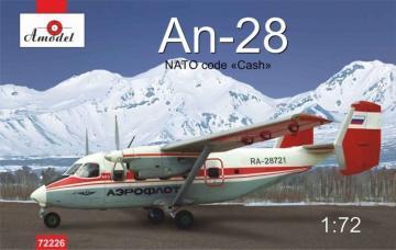 Antonov An-28 Polar · AM 72226 ·  A-Model · 1:72
