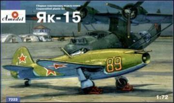 Yakovlev Yak-15 Soviet jet fighter · AM 7223 ·  A-Model · 1:72