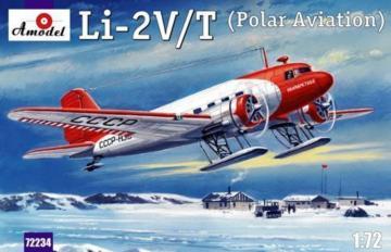 Lisunow Li-2V/T Soviet polar aircraft · AM 72234 ·  A-Model · 1:72