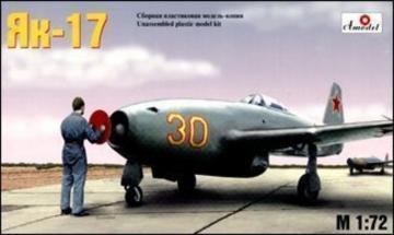 Yakolev Yak-17 Soviet jet fighter · AM 7224 ·  A-Model · 1:72
