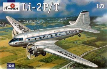 Lisunov Li-2P/T Soviet passenger aircraf · AM 72244 ·  A-Model · 1:72