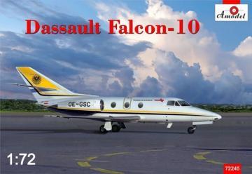 Dassult Falcon 10 · AM 72245 ·  A-Model · 1:72