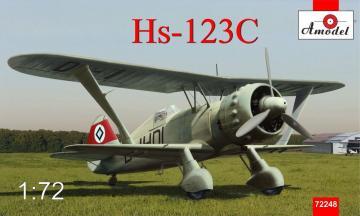 Henschel Hs 123 C dive-bomber · AM 72248 ·  A-Model · 1:72