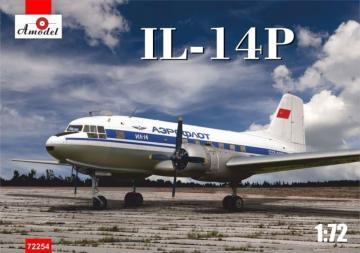 Ilyushin IL-14P · AM 72254 ·  A-Model · 1:72