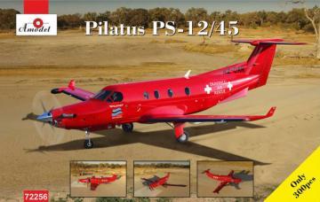 Pilatus PS-12/45 · AM 72256 ·  A-Model · 1:72