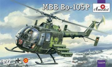 MBB Bo-105P helicopter, military version · AM 72259 ·  A-Model · 1:72