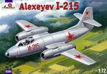 Alexyev I-215 · AM 72261  ·  A-Model · 1:72