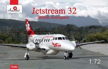 Jetstream 32 British airliner · AM 72262 ·  A-Model · 1:72