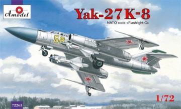 Yakovlev Yak-27K-8 interceptor · AM 72263 ·  A-Model · 1:72