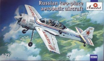 Sukhoi Su-29 Russian two-place aerobatic · AM 72269 ·  A-Model · 1:72