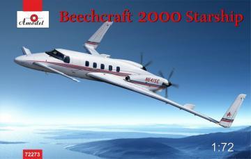Beechcraft 2000 Starship N641SE · AM 72273 ·  A-Model · 1:72