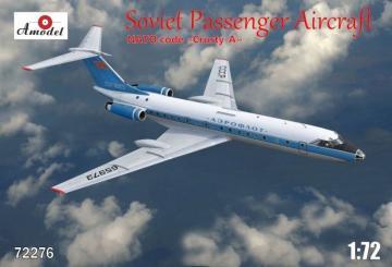 Tupolev Tu-134A Aeroflot airlines · AM 72276 ·  A-Model · 1:72