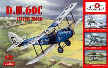 de Havilland DH.60C Cirrus Moth · AM 72280 ·  A-Model · 1:72