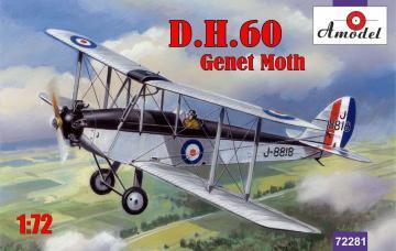 de Havilland DH.60 Genet Moth · AM 72281 ·  A-Model · 1:72